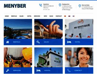 menyber.com screenshot