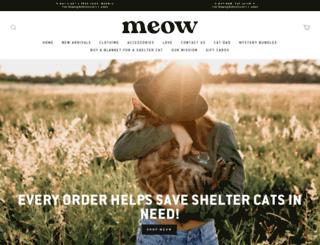 meow.com screenshot