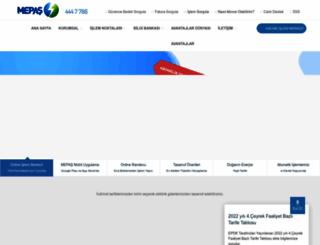 mepasenerji.com screenshot