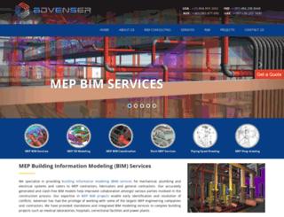 mepbim.com screenshot