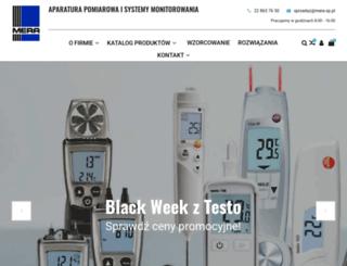 mera-sp.com.pl screenshot