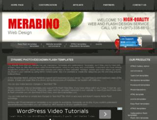 merabino.com screenshot