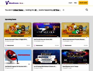 meraevents.com screenshot