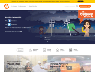 meralco.com.ph screenshot