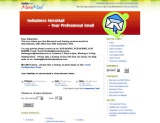 meramail.com screenshot