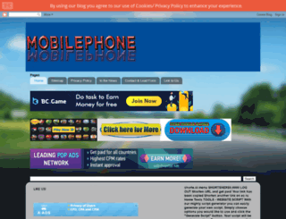 meramobilephone.blogspot.com screenshot