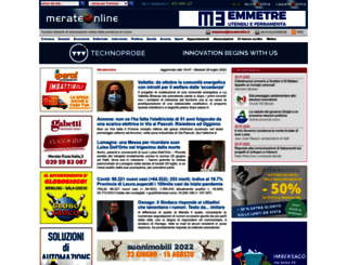 merateonline.it screenshot