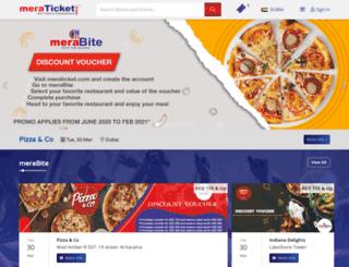 meraticket.com screenshot