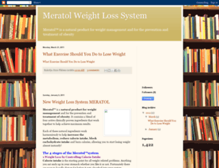 meratol-weight-loss-system.blogspot.com screenshot