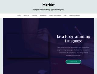 merbist.com screenshot