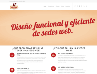 mercadeoalacarta.com screenshot