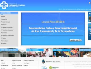 mercadocentral.com.ar screenshot