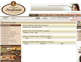 mercadodapanificacao.com screenshot