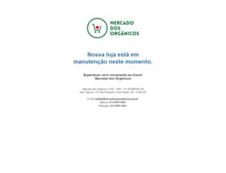 mercadodosorganicos.com.br screenshot
