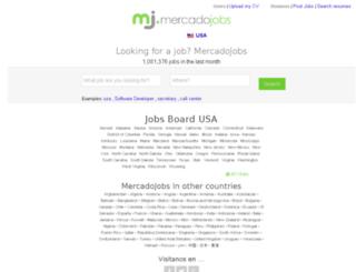 mercadojobs.com screenshot