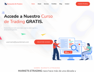 mercadosytrading.com screenshot