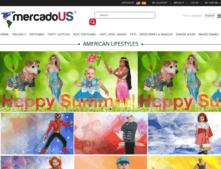 mercadous.com screenshot