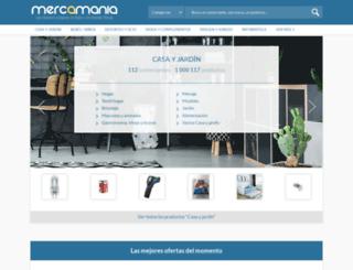mercamania.com screenshot