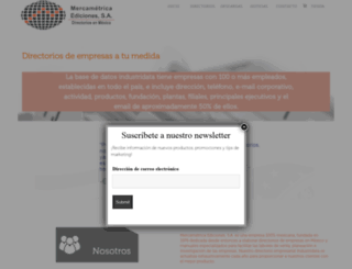 mercametrica.com screenshot