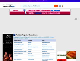 mercantil.com screenshot