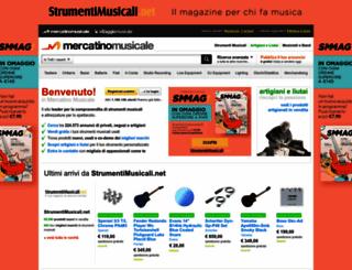 mercatinomusicale.com screenshot