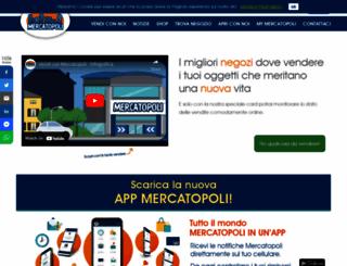 mercatopoli.it screenshot