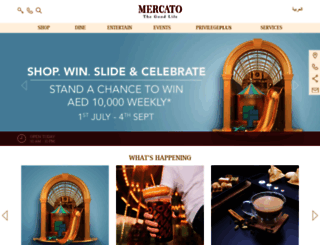 mercatoshoppingmall.com screenshot