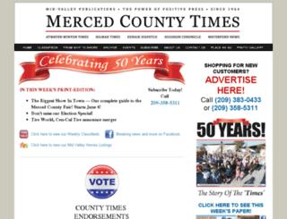 mercedcountytimes.net screenshot