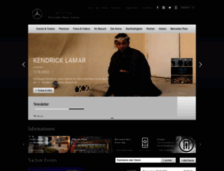 mercedes-benz-arena-berlin.de screenshot