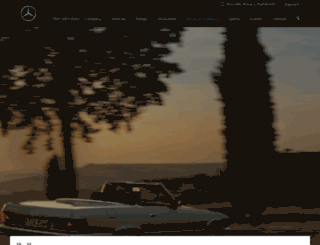 mercedes-benz-classic.com screenshot