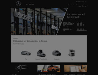 mercedes-benz-weserems.de screenshot