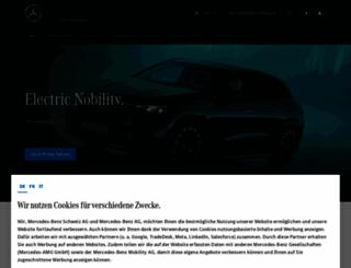 mercedes-benz.ch screenshot