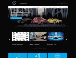 mercedes-benz.com.ph screenshot