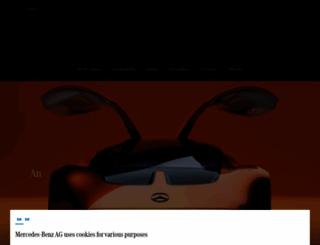 mercedes-benz.com screenshot