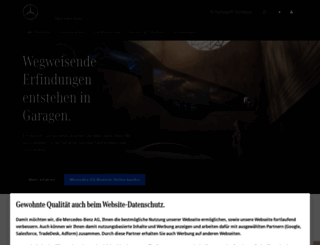 mercedes-benz.de screenshot