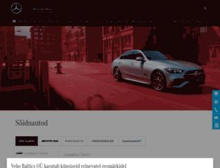 mercedes-benz.ee screenshot