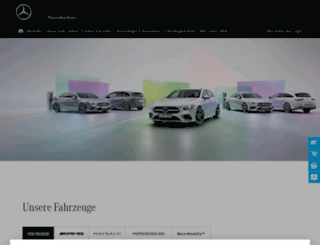 mercedes.at screenshot