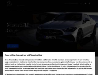 mercedes.fr screenshot