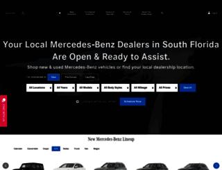 mercedesfla.com screenshot