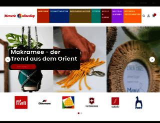 mercerie-onlineshop.ch screenshot