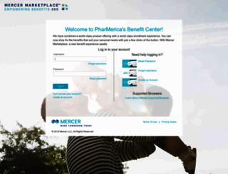 mercermarketplace-pharmerica.secure-enroll.com screenshot