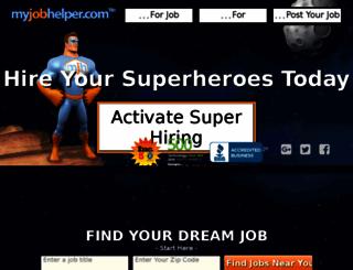 merchandiserjobs.myjobhelper.com screenshot