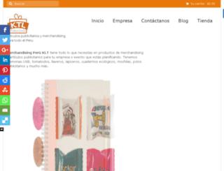 merchandisingperuktl.com screenshot