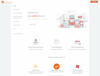 merchant.freecharge.in screenshot