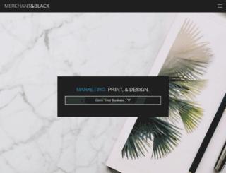 merchantandblack.com screenshot