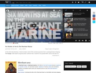 merchantmarinejobs.org screenshot