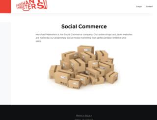 merchantmarketers.com screenshot