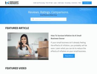 merchantmaverick.com screenshot