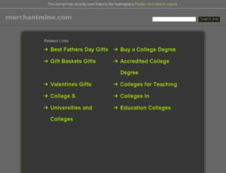 merchantmine.com screenshot