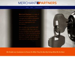 merchantpartners.com screenshot